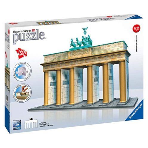 Ravensburger 12551 - Brandenburger Tor-Berlin 3D Puzzle Bauwerk