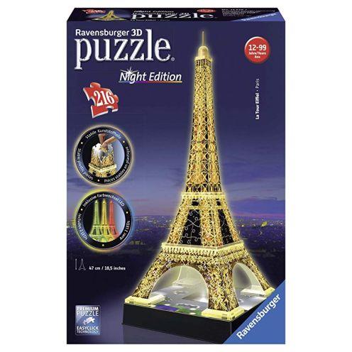Ravensburger 125791 Eiffelturm bei Nacht