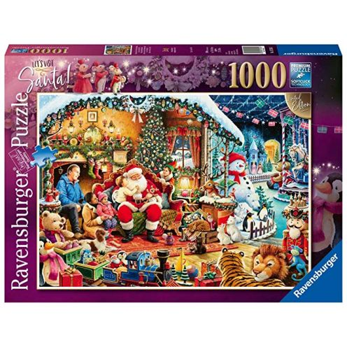 Ravensburger UK 15354 Let 's visit Santa Limited Edition 2018