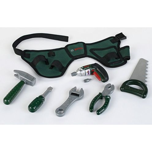 Theo Klein 8493 - BOSCH Werkzeuggürtel mit Akkuschrauber Ixolino