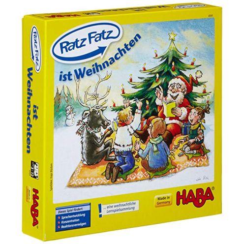 Haba Ratz-Fatz ist Weihnachten