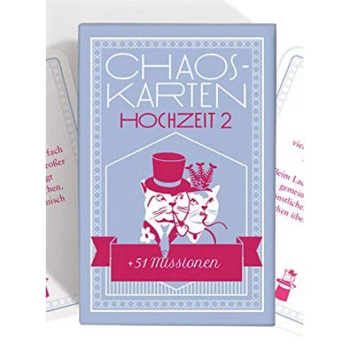 Chaoskarten Hochzeitsspiel – Erweiterungsset