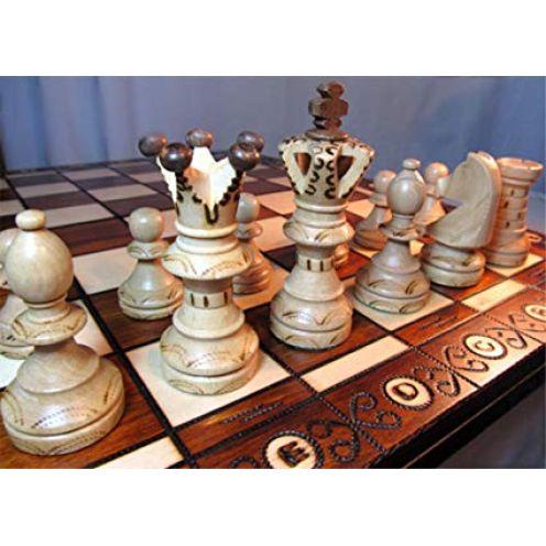 Chessebook Schachspiel aus Holz
