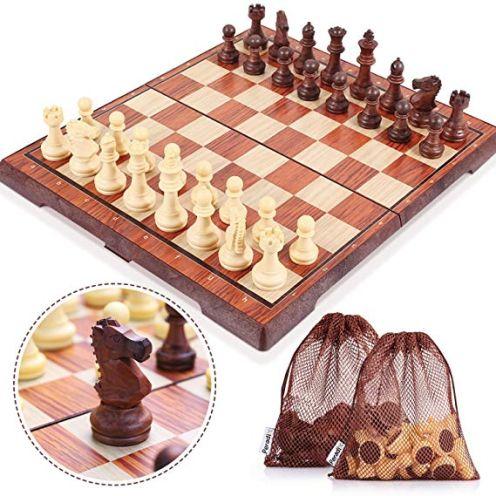 Peradix Schachspiel mit Aufbewahrungsbeutel