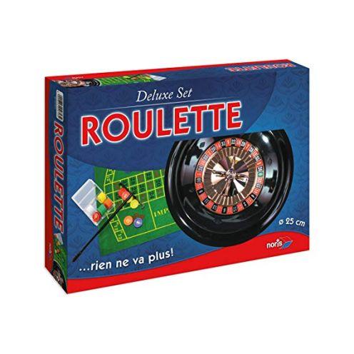Noris Spiele 606104613 606104613-Roulette-Deluxe Set