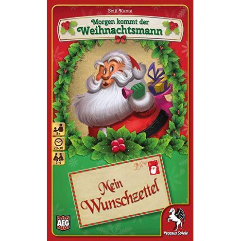 Pegasus Spiele 18212G - Morgen kommt der Weihnachtsmann - Mein Wunschzettel