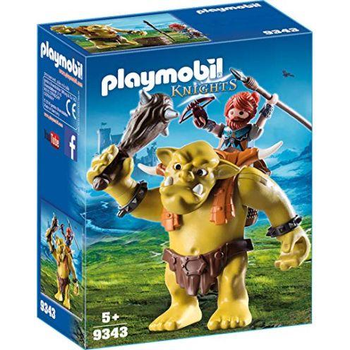 Playmobil Riesentroll mit Zwergenrucksack Spiel