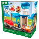 No Name BRIO World 33883 - Flughafen mit Tower Spielset
