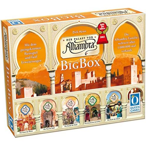 Queen Games 6037 - Alhambra-Big Box