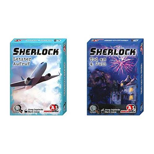 Abacusspiele 48191 - Sherlock - Letzter Aufruf -  Sherlock - Tod am 4. Juli