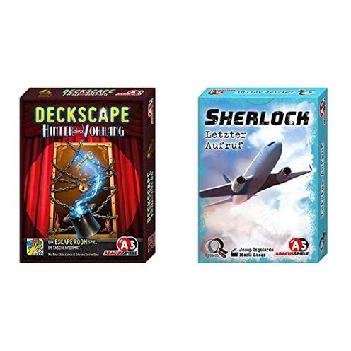 Abacusspiele Deckscape – Hinter dem Vorhang - Sherlock - Letzter Aufruf
