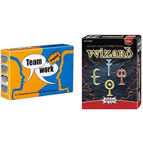 HCM Kinzel Adlung Spiele - Teamwork Original & Amigo - Wizard