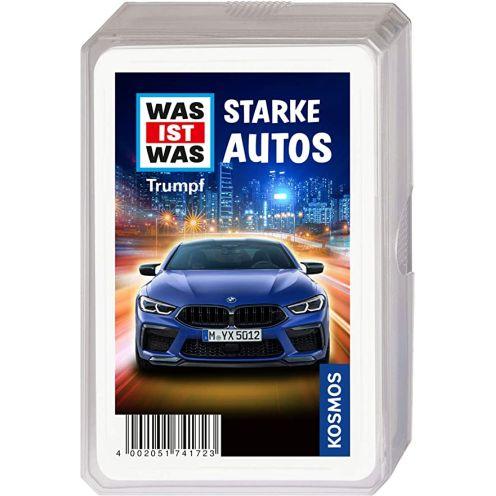 Kosmos WAS IST WAS Starke Autos Kartenspiel
