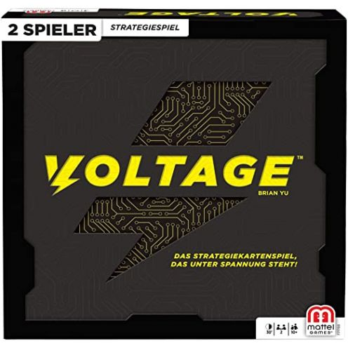 Mattel Games Voltage Schnelles Strategiespiel