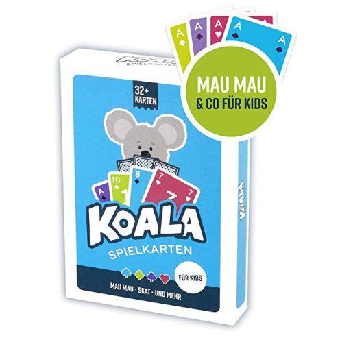 Koala Spielkarten Mau Mau, Skat, UVM.