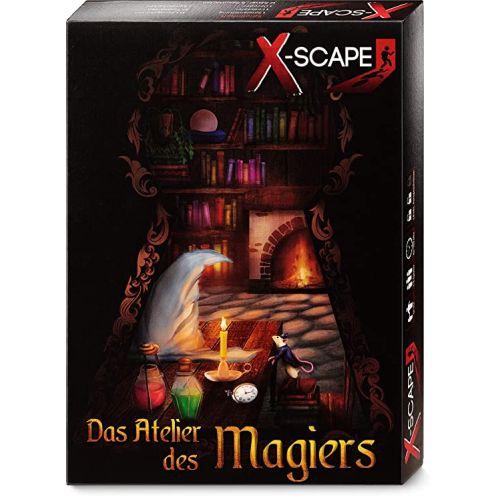 """X-SCAPE """"Das Atelier des Magiers"""" Rätselspiel"""