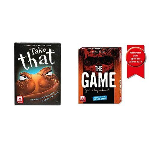 Nürnberger Spielkarten 4043 - TAKE That - Ärgerspiel - Kartenspiel & 4034