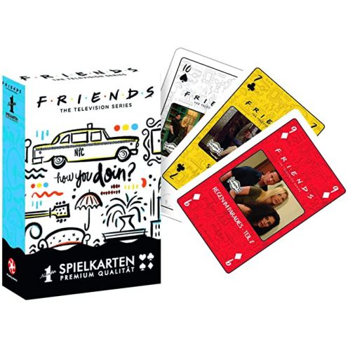 Winning Moves Number 1 Spielkarten - Friends, Kartenspiel