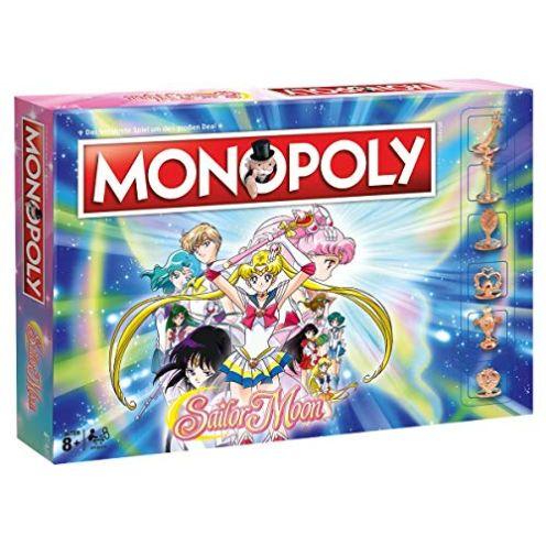 Monopoly Sailor Moon Deutsche Version