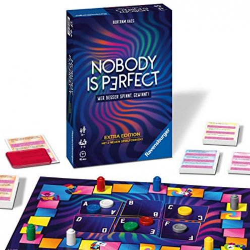 Ravensburger 26846 - Nobody is perfect Extra Edition