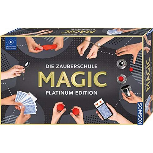 Kosmos 697082 Die Zauberschule MAGIC Platinum Edition
