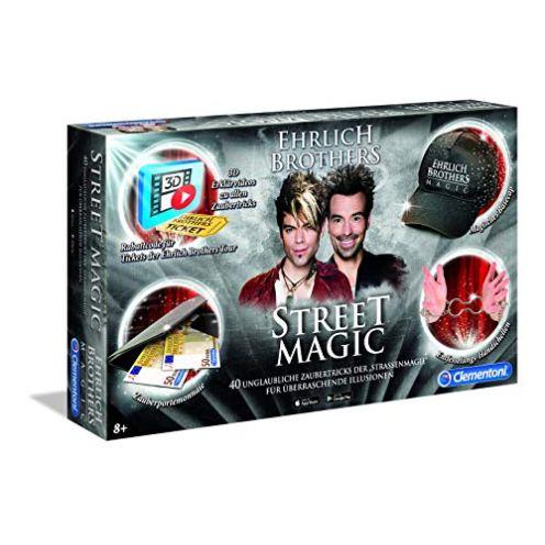 Clementoni 59049 Ehrlich Brothers Street Magic Zauberkasten