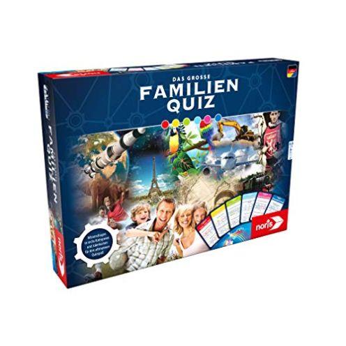 Noris Spiele 606108007 Das Große Familienquiz