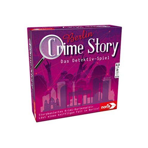 Noris Spiele Crime Story Detektiv Spiel zum Thema Berlin