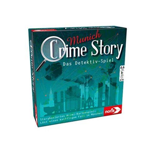 Noris Spiele 606201890 Crime Story Munich-Das Detektiv Spiel