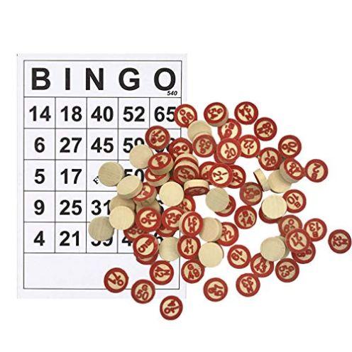 YUSHENG Bingo-Spiele-Set