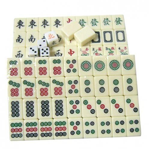 achievr Chinesisches Mahjong-Spielset