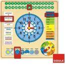 Jumbo Kalender-Uhr