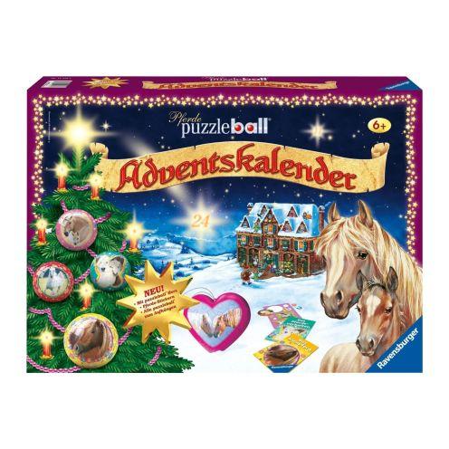 Ravensburger Puzzleball Adventskalender Pferde